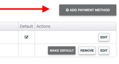 DH Billing Portal Add Payment Method